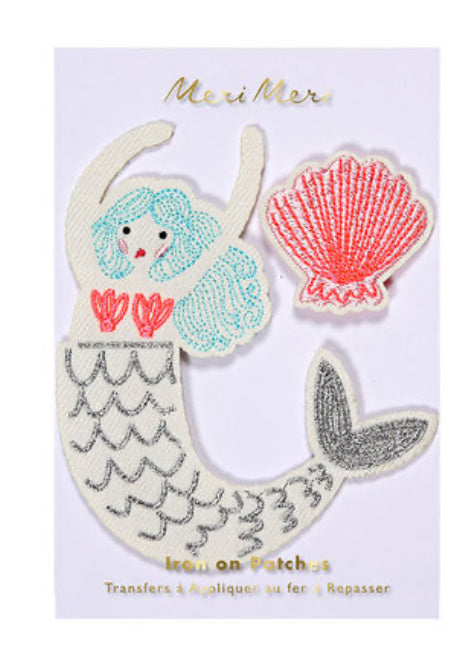 Meri Meri Mermaid Iron On Patches