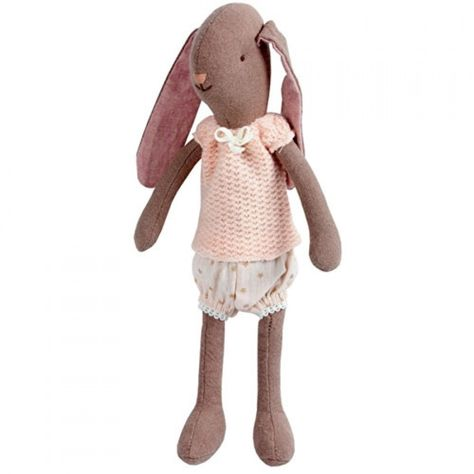 Maileg Mini Bunny Brown Girl