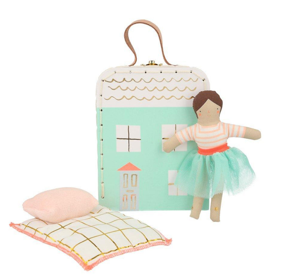 Meri Meri Suitcase With Mini Lila Doll