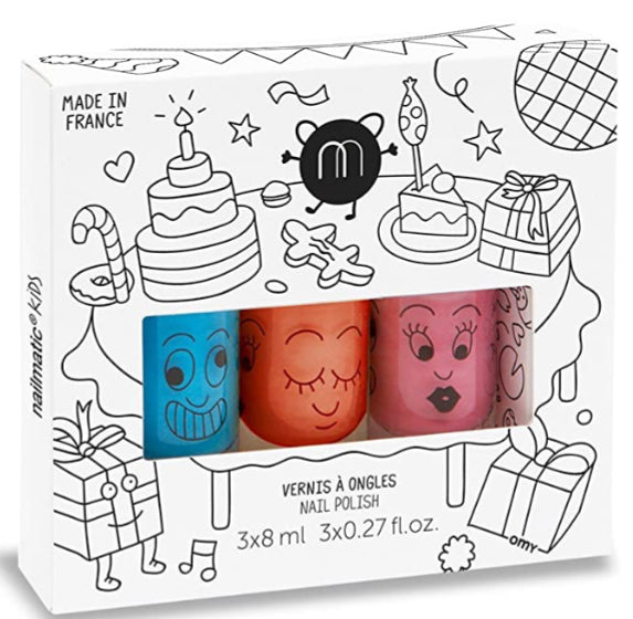 Nailmatic Kids Nail Polish Trio - Party3