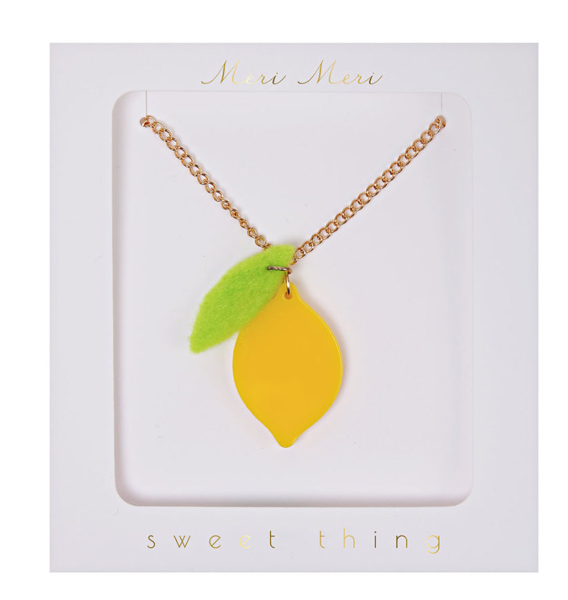 Meri Meri Lemon Necklace