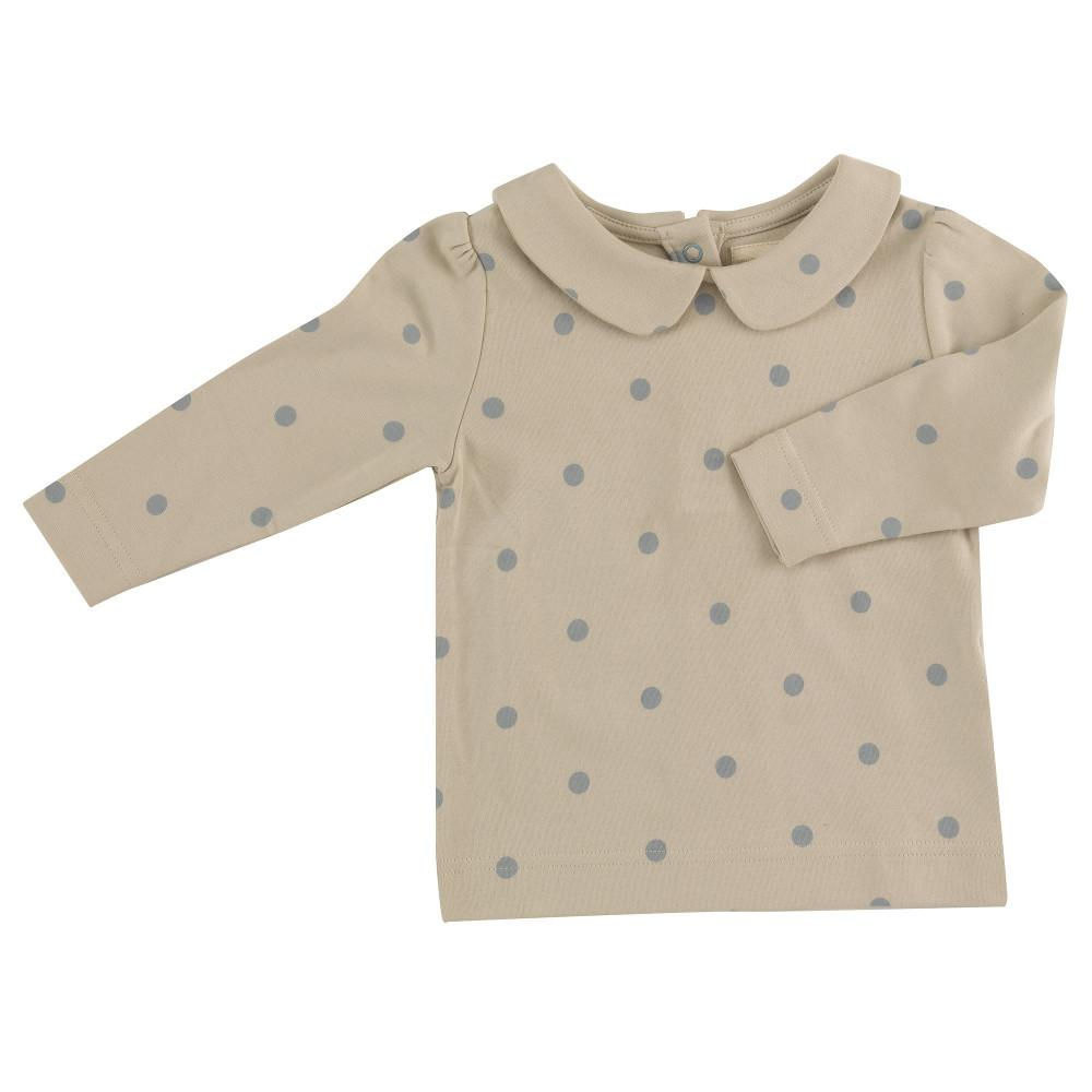 Pigeon Spot Peter Pan Collar Blouse