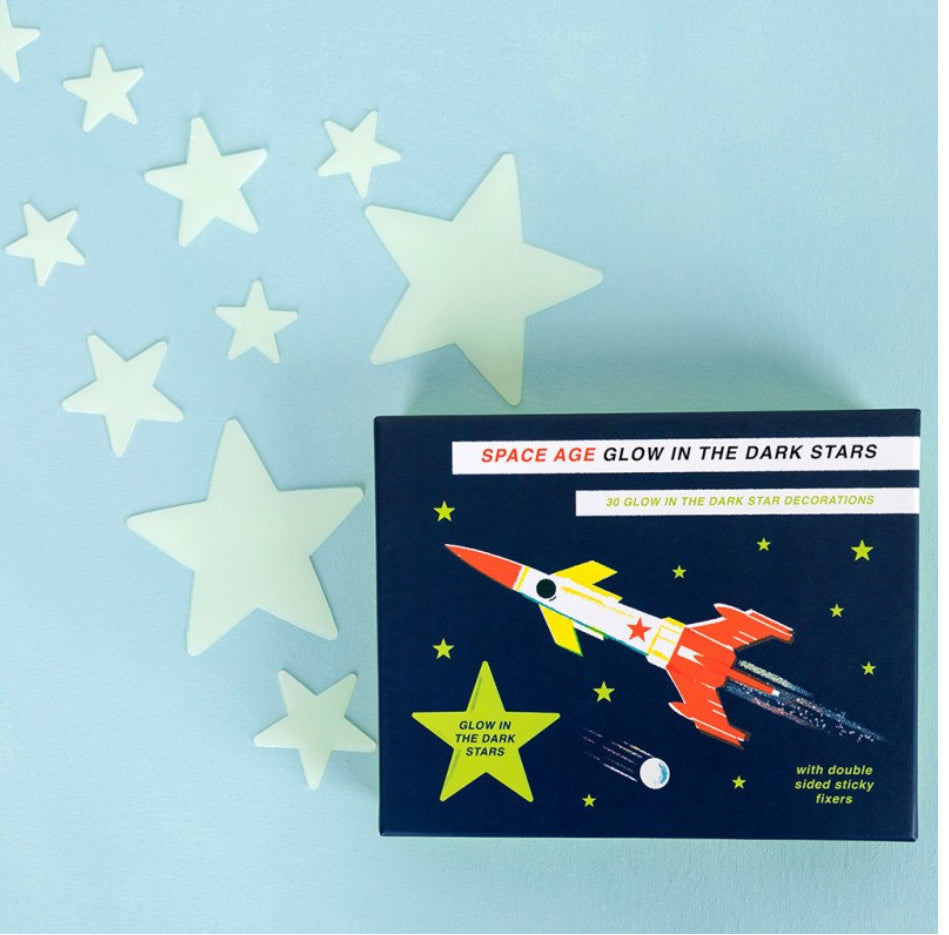 Rex London Space Age Glow In The Dark Stars