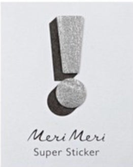 Meri Meri Leather Sticker !