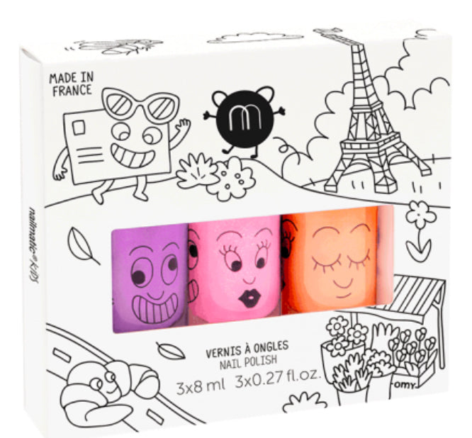 Nailmatic Kids -  Nail Polish Trio - Paris