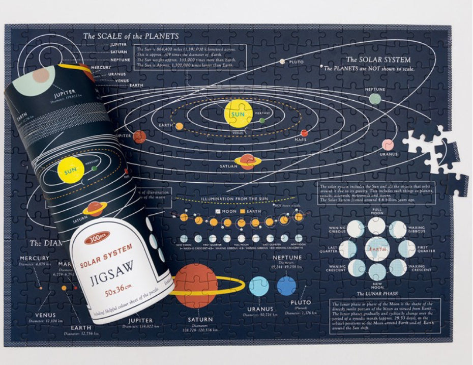 Rex London Solar System Jigsaw