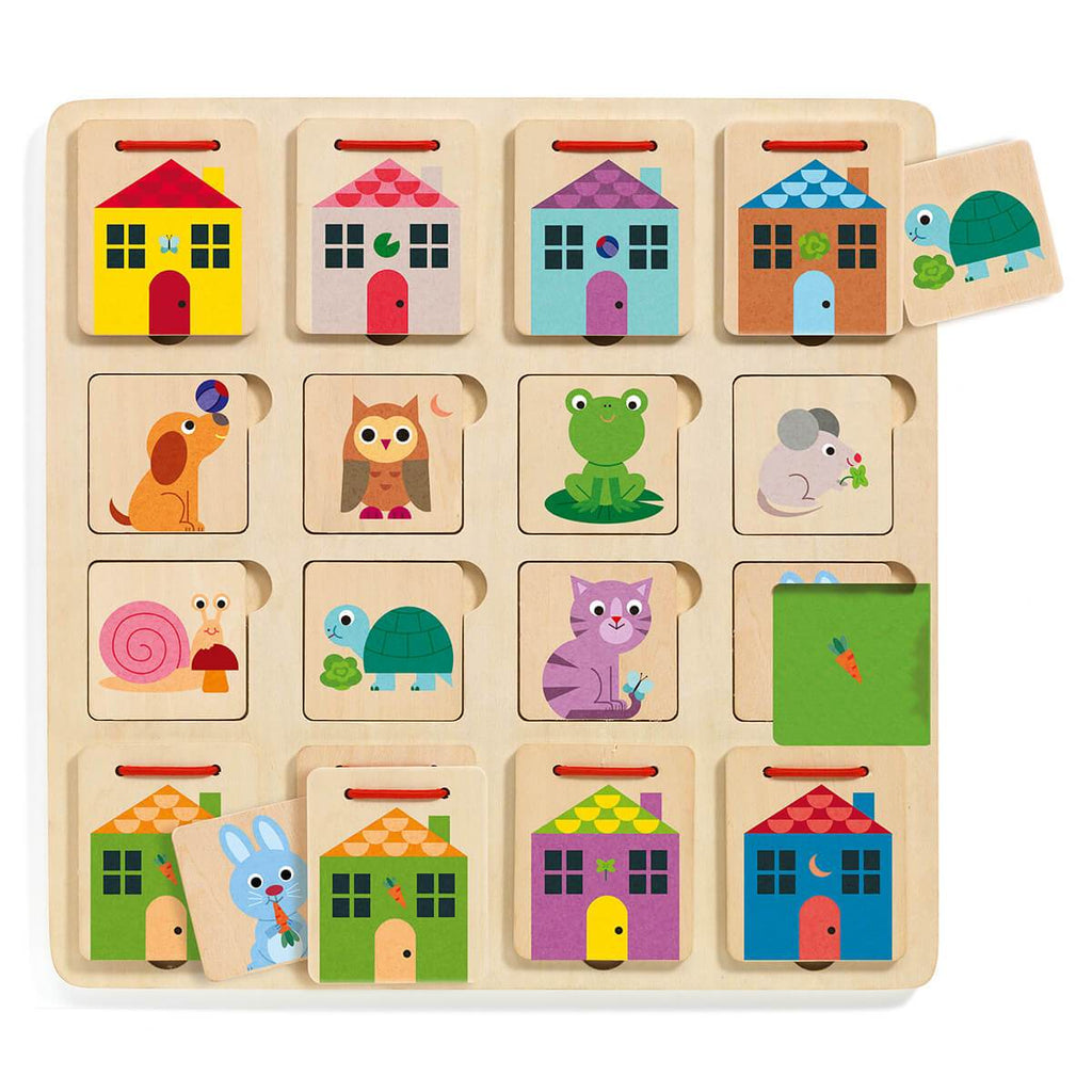 Djeco Hide And Seek Puzzle Cabanimo