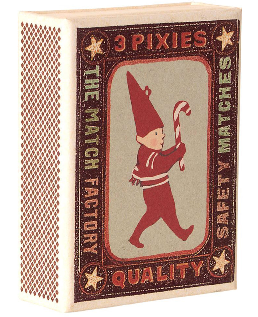 Maileg Set of Three Metal Pixies in a Matchbox