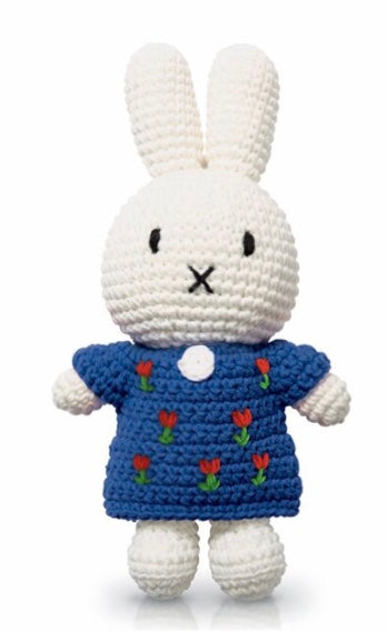Miffy Crochet In A Blue Tulip Dress