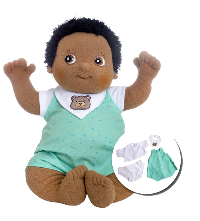 Rubens Baby Doll Nils  4 Pcs Outfit With Box