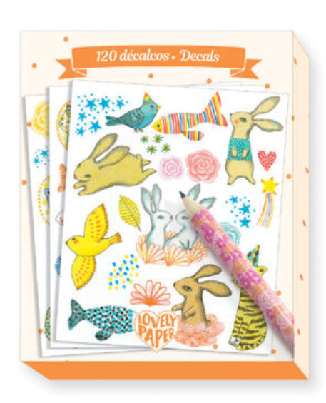 Djeco Lovely Paper Elodie 120 Decals