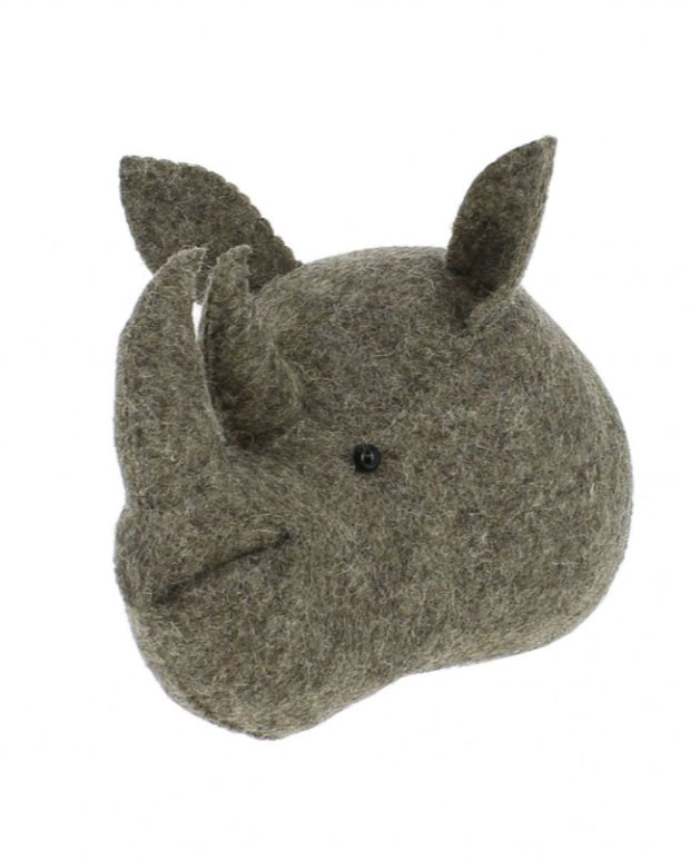 Fiona Walker Rhino Head Mini