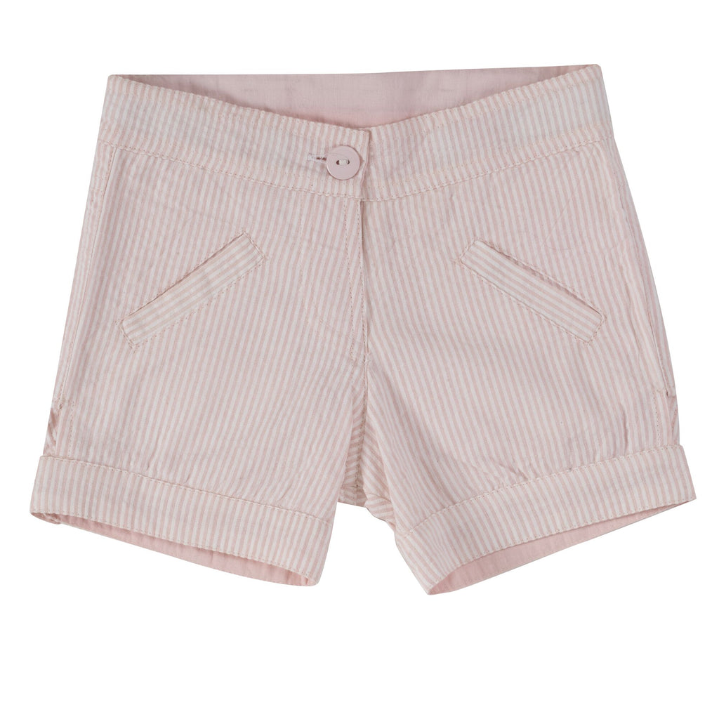 Pigeon Seersucker Girls Shorts