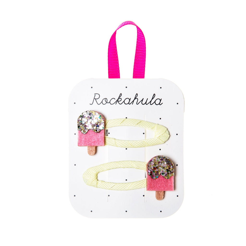 Rockahula Ice Lolly Glitter Clips