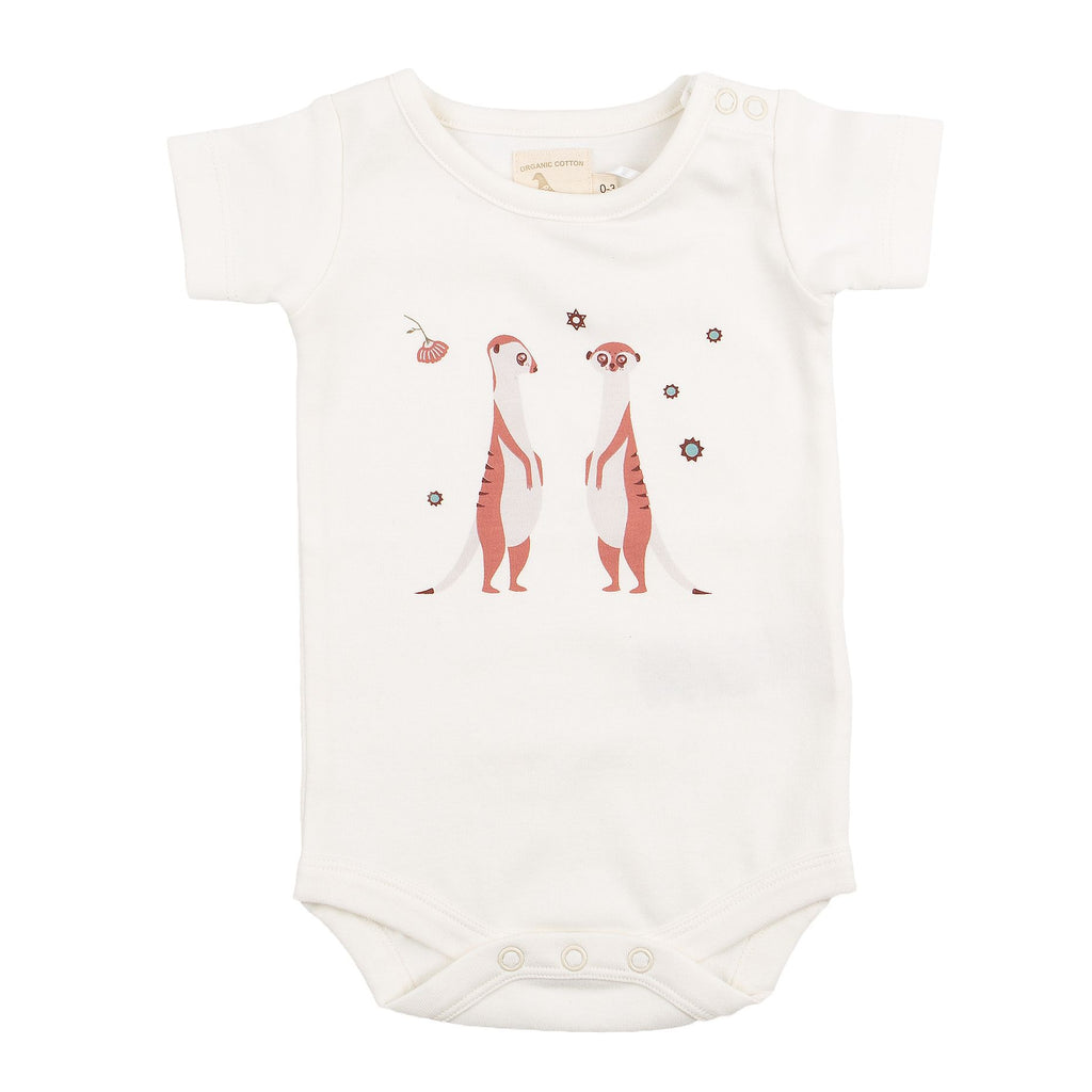 Pigeon Single Print Meerkat Standing Summer Body