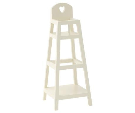 Maileg My High-Chair - White