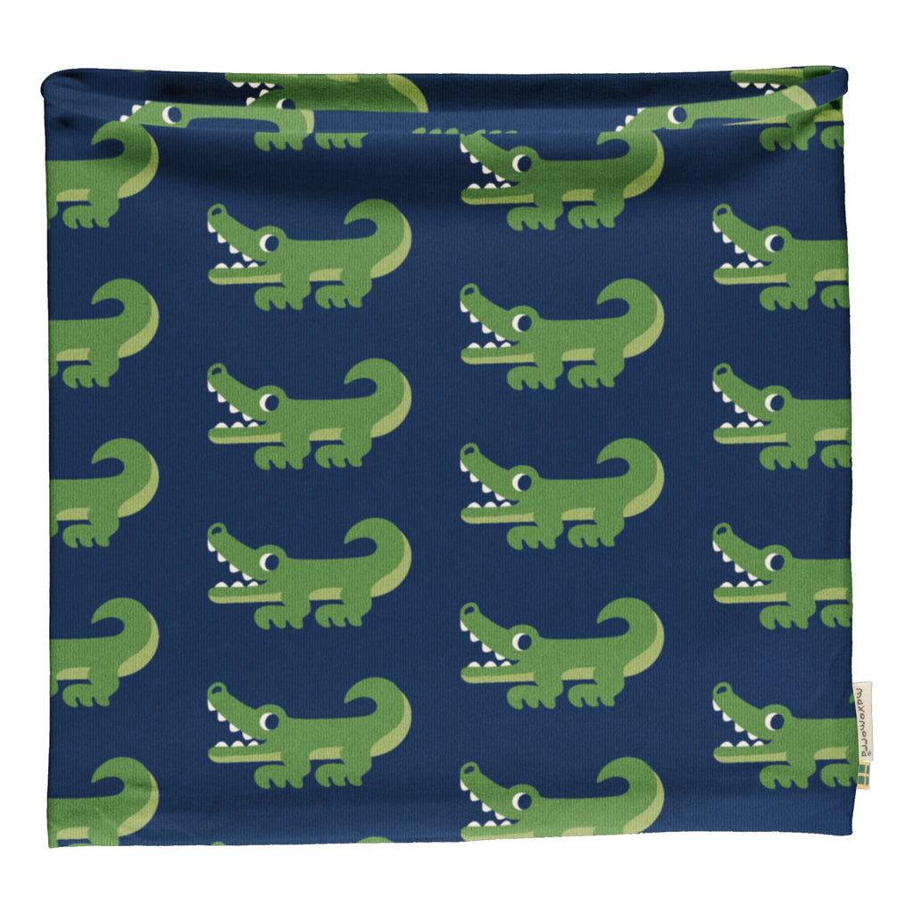 Maxomorra Crocodile Tube Scarf