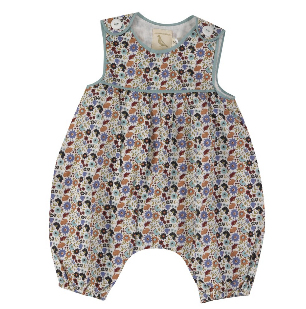 Pigeon Organics Ditsy Baby Playsuit