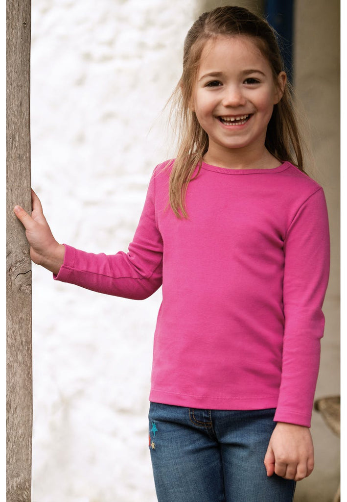 Frugi Everyday Long Sleeve Tee