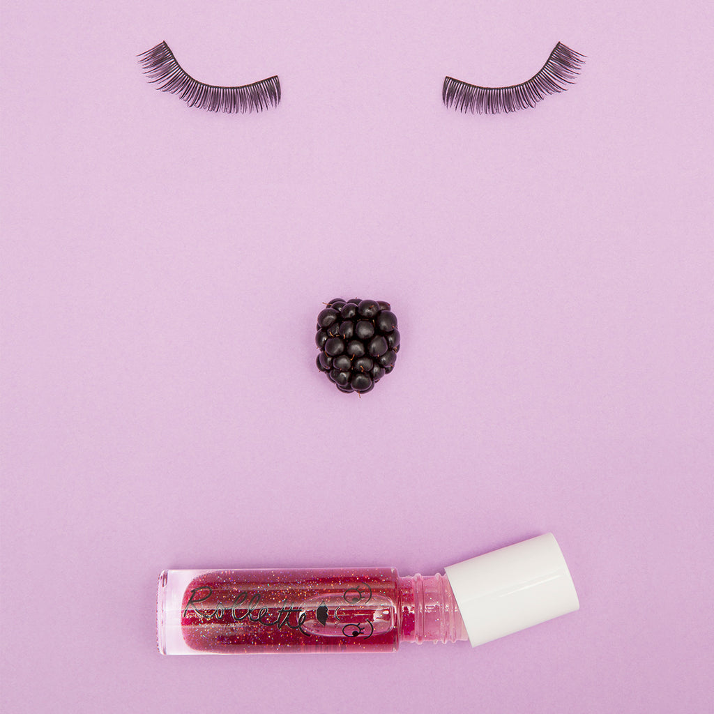Nailmatic Kids Blackberry Rollette Lipgloss