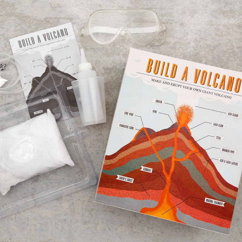Rex London Build A Volcano Kit