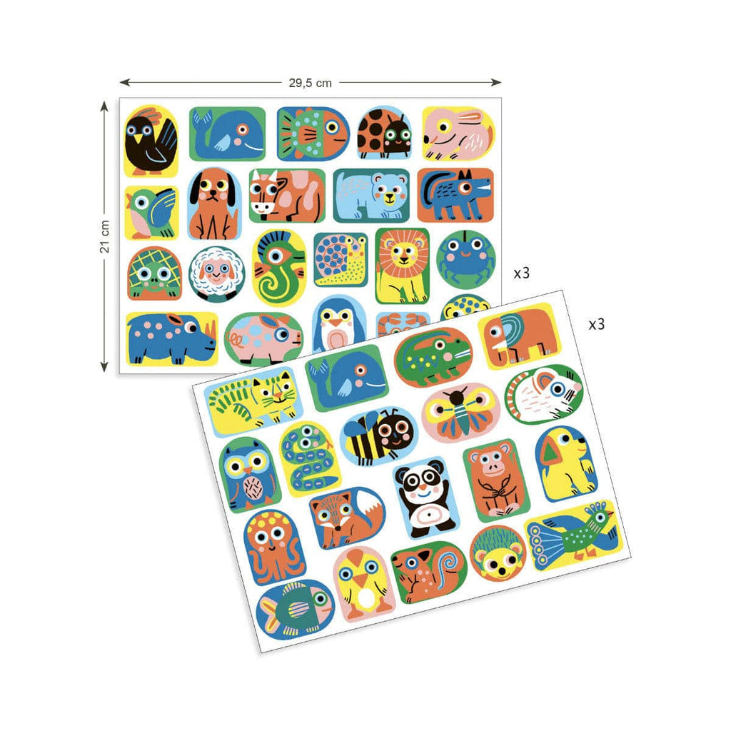 Djeco Big Stickers For Toddlers