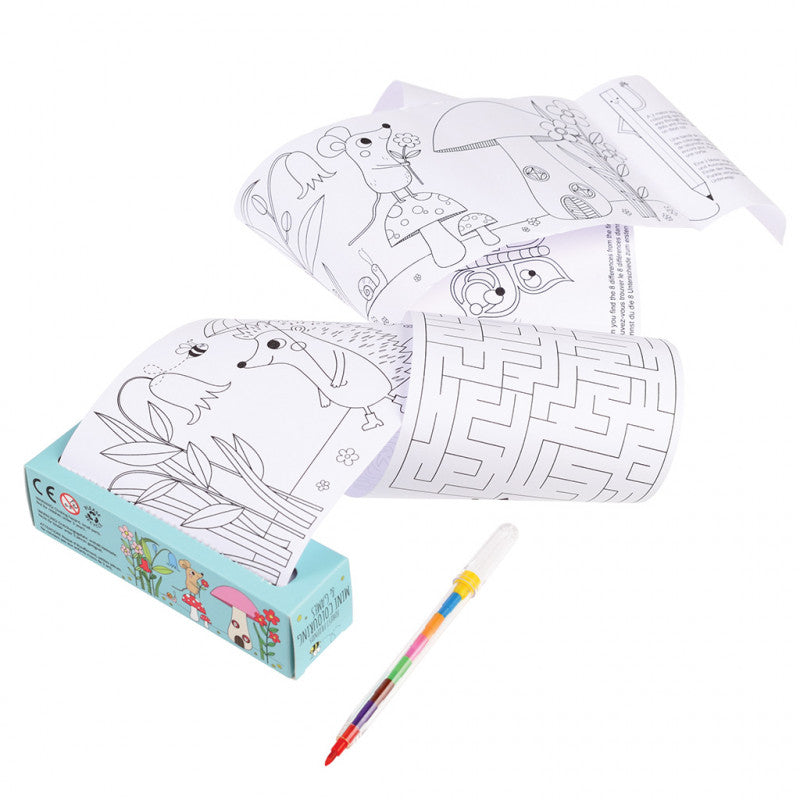 Rex London Forest Friends Mini Colouring & Games
