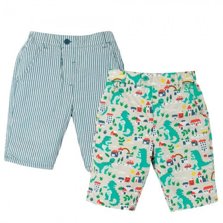 Frugi Reuben Reversible Shorts