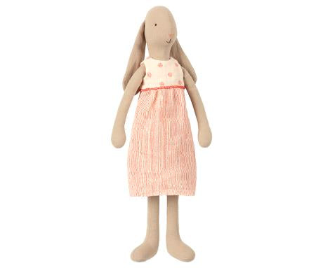 Maileg Size 3 Bunny In Off White Dress