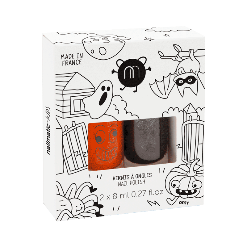 Nailmatic Kids Nail Polish Duo Halloween