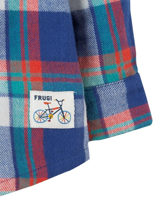 Frugi Hector Checked Shirt