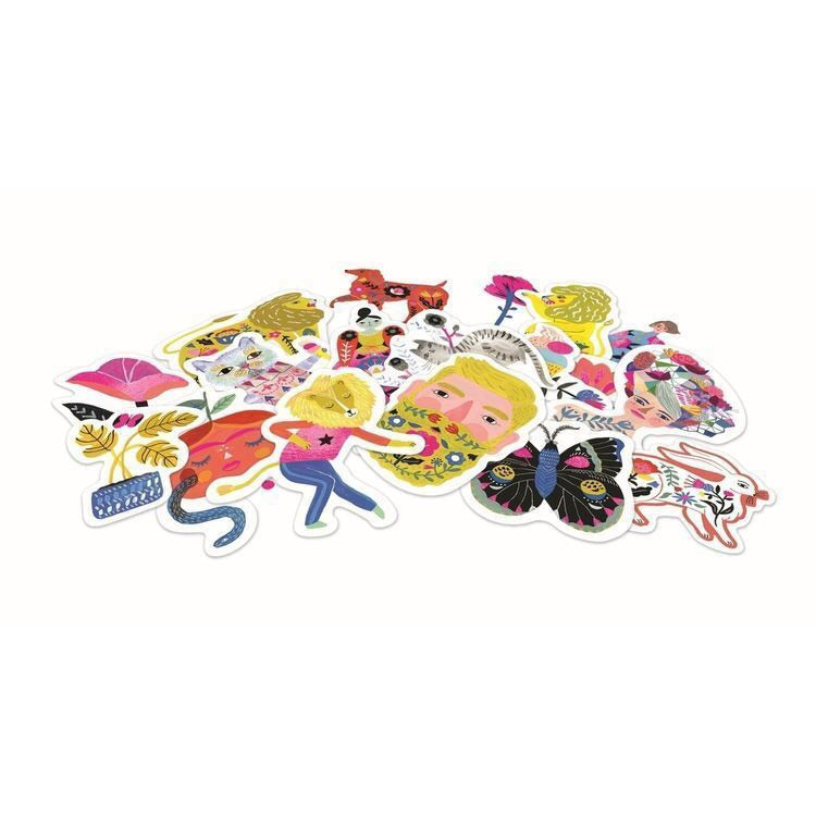 Djeco Lovely Paper 50 Sarah Stickers