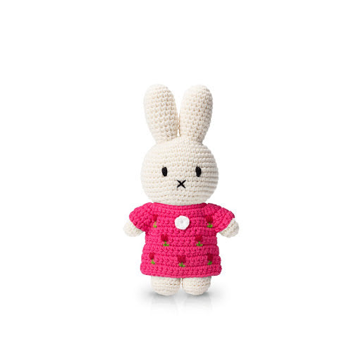 Miffy Crochet In A Pink Tulip Dress