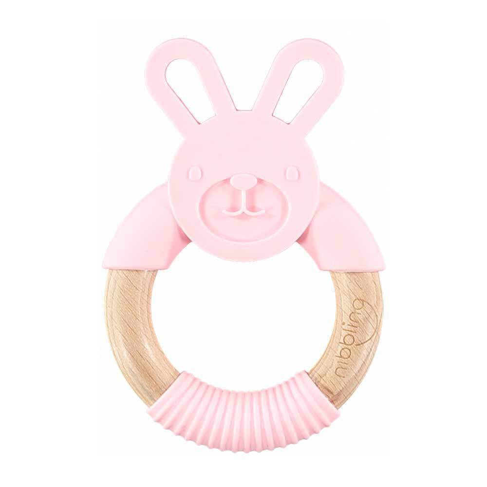 Nibbling London Flex Rabbit Teething Ring