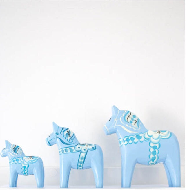 Nils Olsson Dalahorse Light Blue