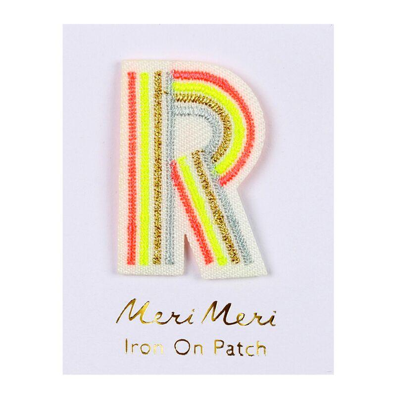 Meri Meri Iron On Alphabet Patches