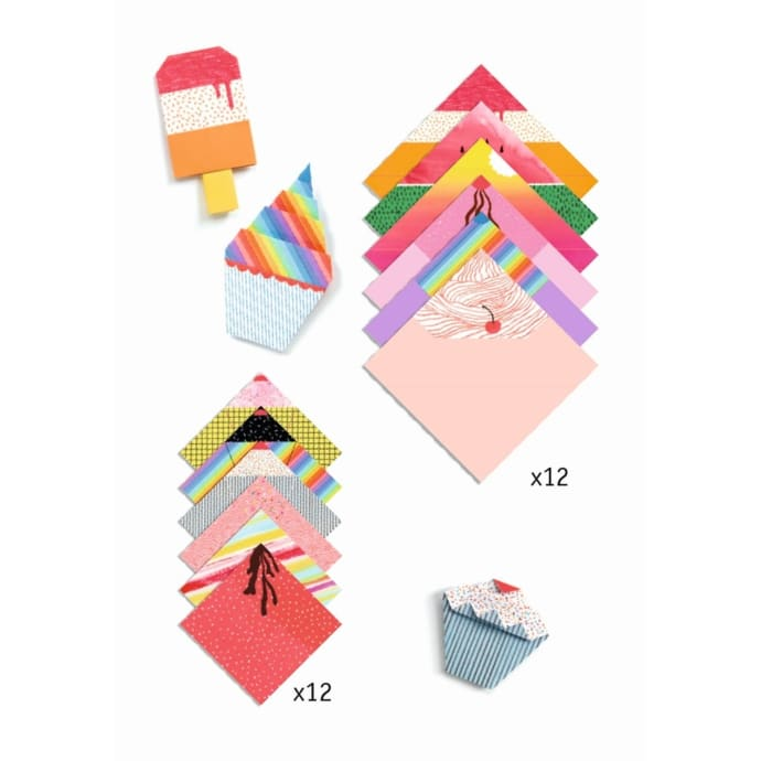 Djeco Easy Origami Sweet Treats
