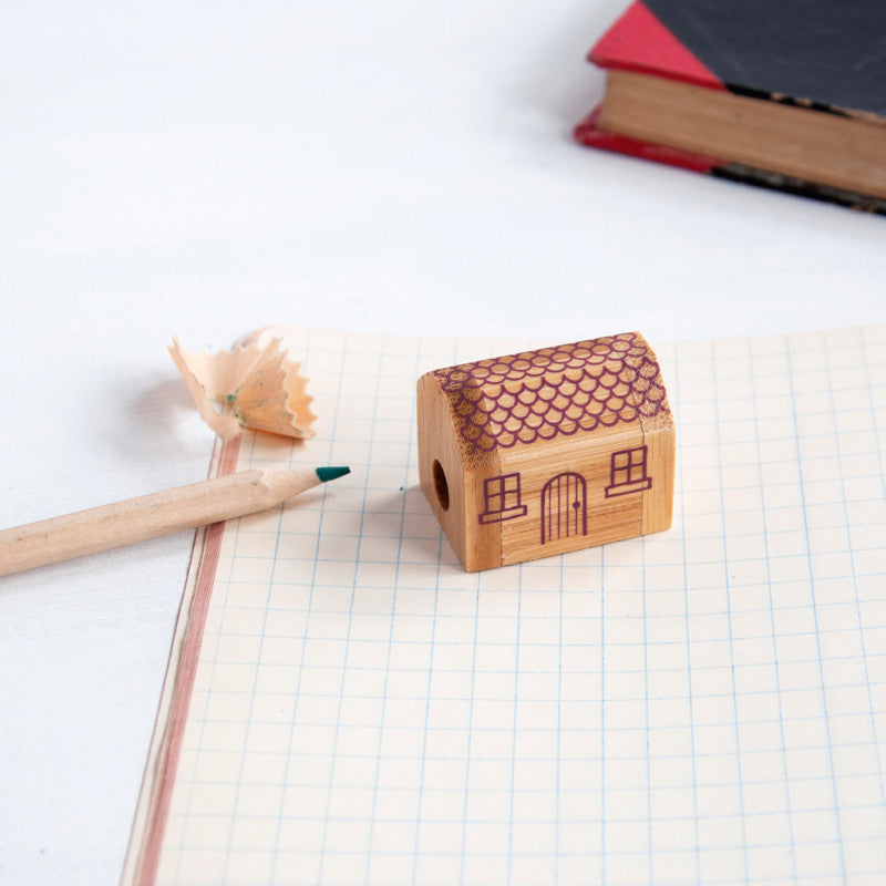 Rex London Little House Pencil Sharpener