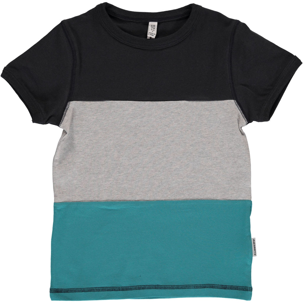Maxomorra Block Short Sleeve T-Shirt