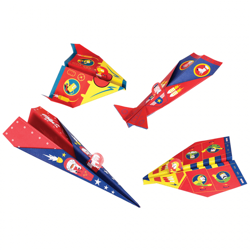 Rex Make Origami Paper Planes