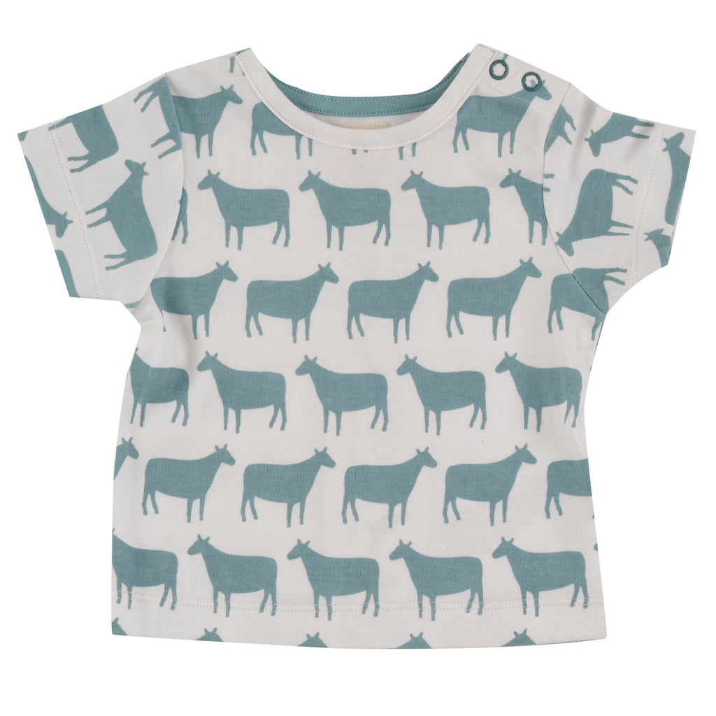 Pigeon Organics Sheep Short Sleeve T-Shirt