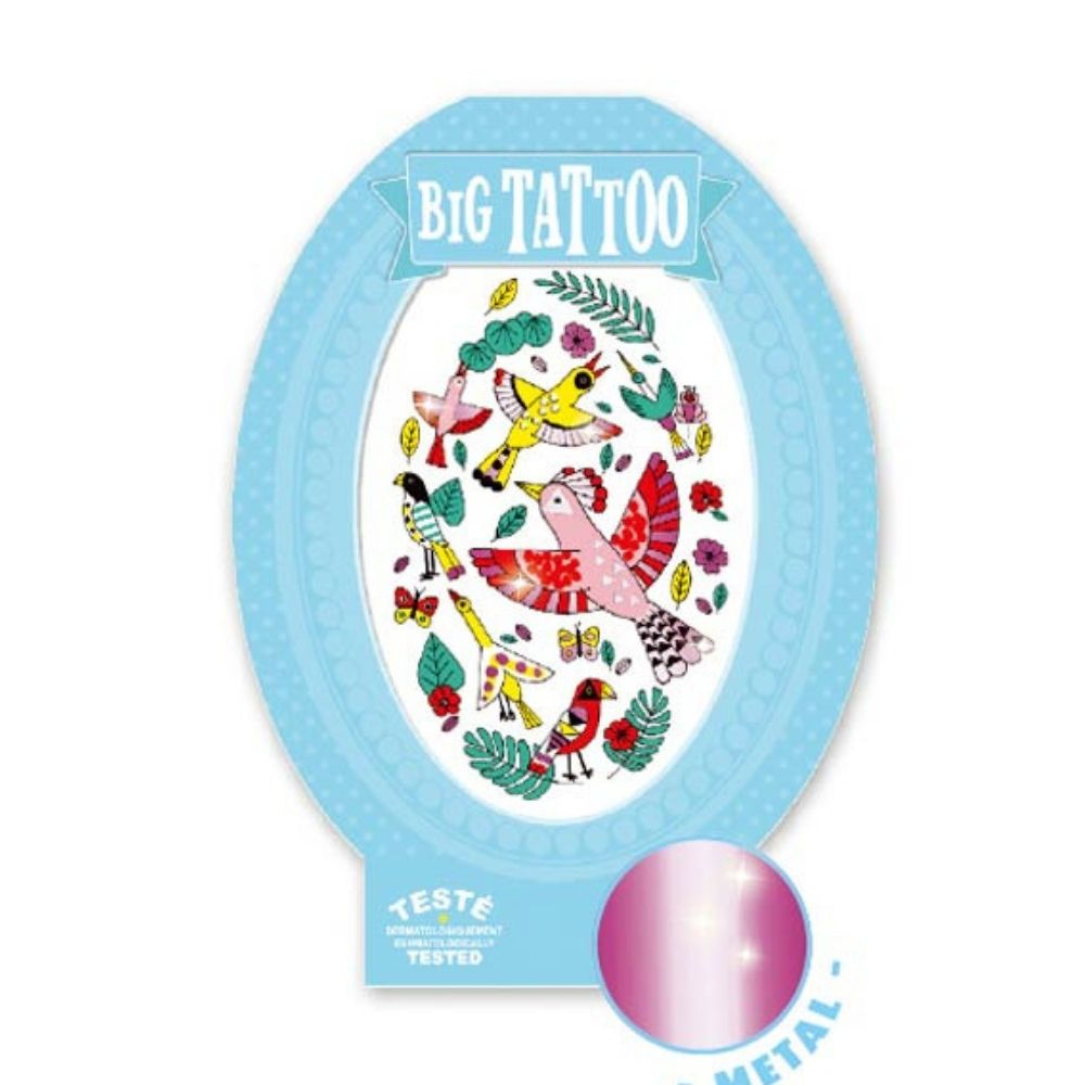 Djeco Big Tattoo Birdy