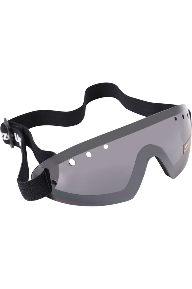 Race goggles (smoke tinted)