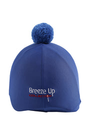 Helmet cover with Breeze Up logo (royal blue)