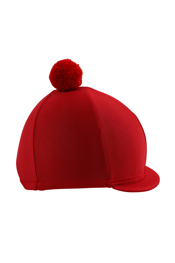 Helmet cover with Breeze Up logo (red)