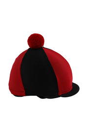 Helmet cover with Breeze Up logo (black/red)