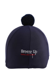 Helmet cover with Breeze Up logo (navy)
