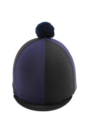 Helmet cover with Breeze Up logo (black/navy)