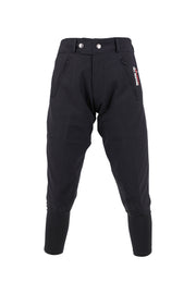 Exercise Breeches - unisex (black/black-patches)