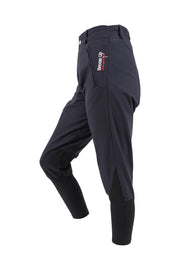 Exercise Breeches - unisex (navy/black-patches)